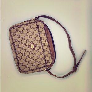 Authentic Vintage Gucci GG Plus Mini Shoulder Bag